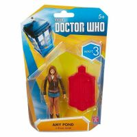 "Doctor Who 3.75"" Wave 3: Amy Pond in brown jacket - Action Figure"